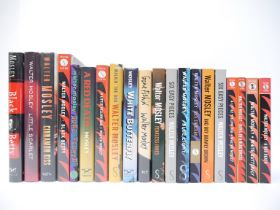 Walter Mosley, twenty titles, of which sixteen signed,