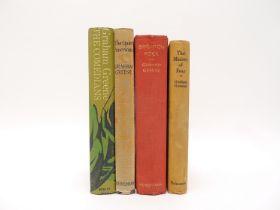 Graham Greene, 4 titles: 'Brighton Rock', London, William Heinemann, 1938, 1st edition,