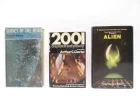 Arthur C. Clarke: '2001 a Space Odyssey', London, Hutchinson, 1968, 1st edition,