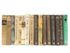 Ian Fleming, collection of sixteen titles, including 'You Only Live Twice', 2 copies, both Cape,