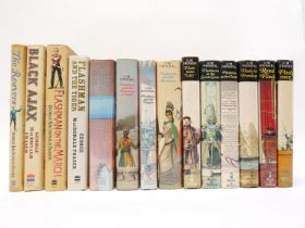 George MacDonald Fraser: '[The Flashman Papers]', 12 volumes, 1969-2005, 1st editions,