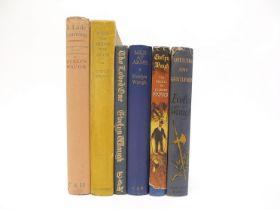 Evelyn Waugh, 6 titles: 'Officers & Gentlemen', C & H, 1955, 1st edition, original cloth,
