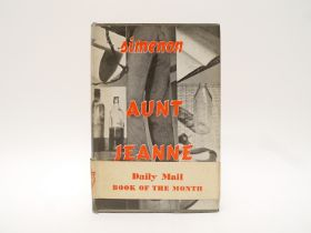 Georges Simenon: 'Aunt Jeanne', Kegan Paul, 1953, 1st UK edition, original cloth, dust wrapper,