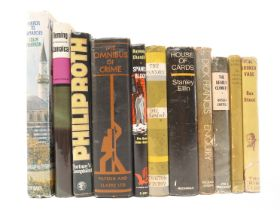 Eleven modern first editions, comprising Colin Thubron: 'Mirror to Damascus', London, Heinemann,