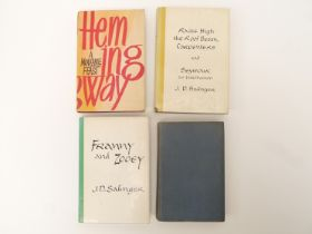 J.D. Salinger, 3 titles: 'The Catcher in the Rye', London, Hamish Hamilton, 1951, 1st UK edition