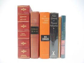 Noel Coward, five signed titles: 'Tonight at 8.30', New York, Doubleday, 1936, 1st edition, signed,
