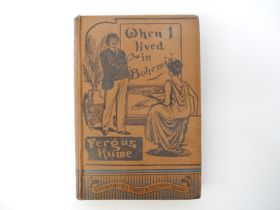 Fergus Hume: 'When I Lived in Bohemia', Bristol, Arrowsmith, [1892], 1st edition, 1st issue,