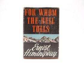 Ernest Hemingway: 'For Whom the Bell Tolls', New York, Scribner's, 1940,