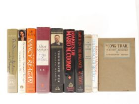 Ten books and autobiographies relating to politics and government, all signed,