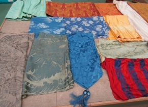 A considerable quantity 18th, 19th and 20th Century French and English silks,
