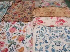 An abundance of 19th Century through to early 20th Century large scale florals,