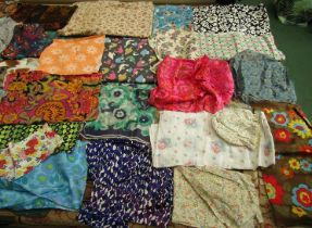 A large quantity of early to mid 20th Century small scale clothing prints.