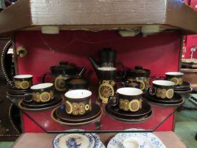 A quantity of Denby tea/coffee wares