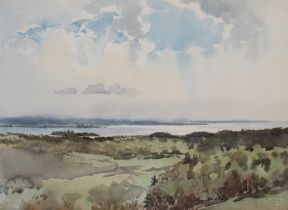 VICTOR COVERLEY-PRICE (1901-1988): A framed and glazed watercolour.