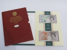 A Limited Edition Chief Cashier banknote collection