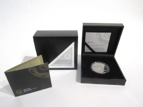 A 2017 1oz silver proof Krugerrand, South African Mint, cased and boxed, limited edition of 15,