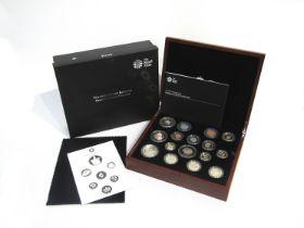 A Royal Mint UK 2013 Premium proof coin set,
