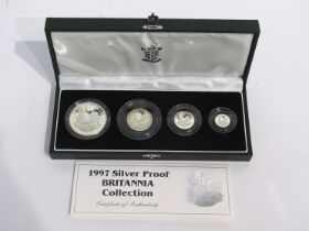 A United Kingdom 1997 Britannia silver proof collection,