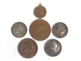 A French Presentation medal Louis XVIII Chambre des Deputes 1822 unnamed presentation medal by