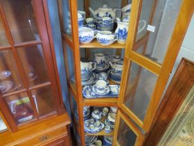 A large collection of Royal Doulton Norfolk pattern table ware including dinner,