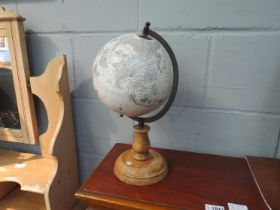 A World Globe on stand