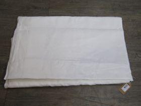 An Irish linen damask banqueting cloth.