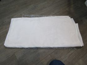 "An Irish linen damask tablecloth. Early 20th Century by ""Walpole Bros. Belfast"" (Woven signature)."