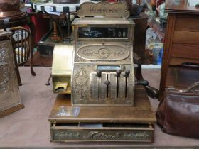 A lever operated National Cash Register (German) model 176, serial no.