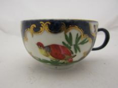 A Dr Wall Period Worcester porcelain tea cup,