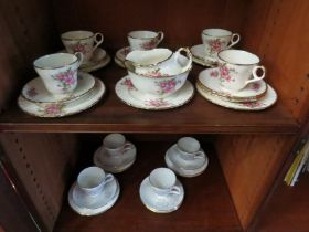 A Grindley teaset and another