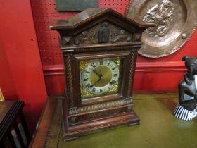 "A table cuckoo clock, 11½""w x 16""h. Junghans movement, circa 1890-1900."