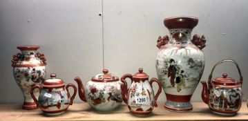 6 items of Chinese pottery.