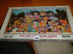 A Beatles Illustrated Lyrics puzzle.