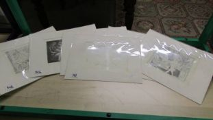 Pablo Picasso (1881-1973) Collection of 6 prints Vollard suite mainly nudes circa 1956.