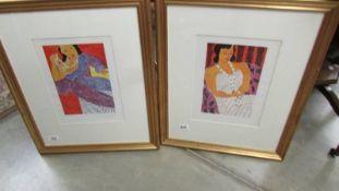 Henri Matisse (1869-1954) Pair of lithographic prints Editions De La Revue Verve,