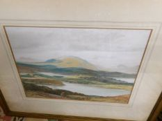 A pair of framed and glazed rural watercolours signed G Trevor (British School).