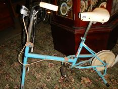 An old Centrum exercise bike.
