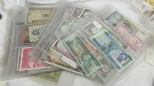 58 foreign bank notes.