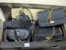 A quantity of ladies handbags including Susie Smith,