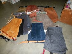 In excess of 10 pairs of men's trousers including cord, various styles and sizes.