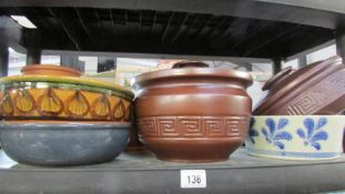 A quantity of tureen's, dishes etc.