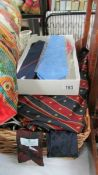 A mixed lot of neck ties etc.