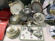 Quantity of teaware, including 14 piece Noritake teaset, other part sets, etc.