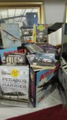 A mixed lot of aircraft related books.