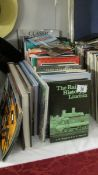 A mixed lot of railway related books.