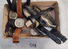 A box of wrist watches