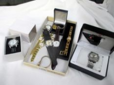 A quantity of wristwatches inc.