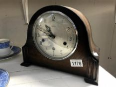 A Smiths mantle clock with key