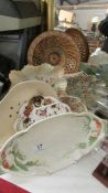 A mixed lot of ceramic dishes etc.