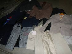 Various women's jackets in various sizes and styles including a size 12 'Toast' jacket (never worn